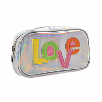 Love Patch Small Cosmetic Bag
