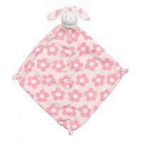 Flower Bunny Lovie Blanket