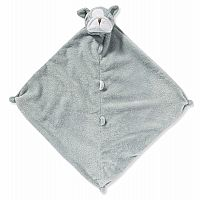 Grey Bulldog Lovie Blanket