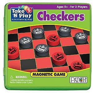 Checkers - Take 'N' Play Anywhere Game