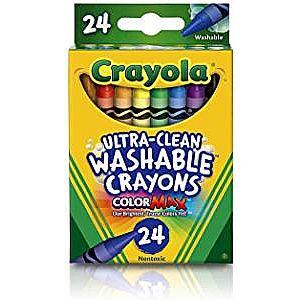 Crayola Washable Crayons 24CT