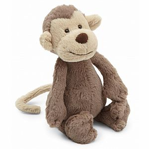 Jellycat Bashful Monkey - Medium 12""
