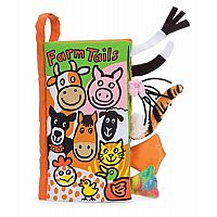 Jellycat Soft Books, Farm Tails