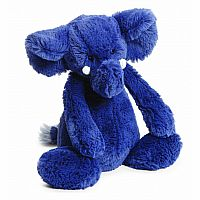 Jellycat Bashful Blue Elephant, Medium - 12""
