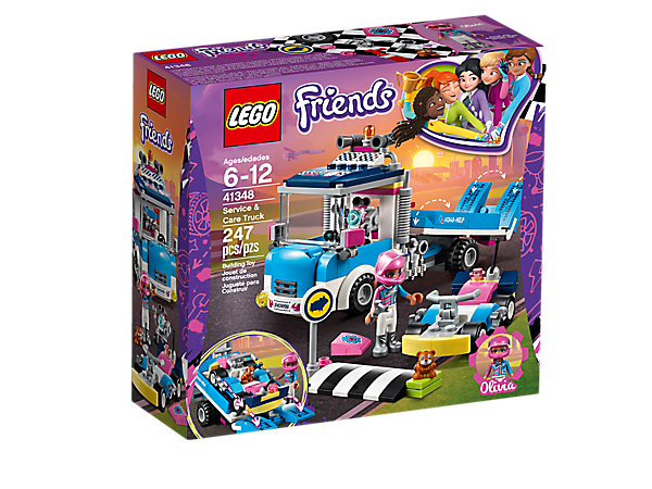Lego Friends Service Car Truck Mary Arnold Toys
