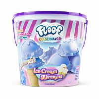Ice Cream Dreams Color Changing Floof Bucket