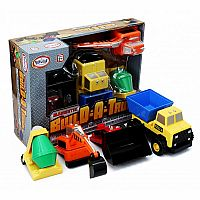 BUILD A TRUCK AGE 2+ MAGNETIC TRUCKS