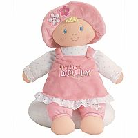 My First Dolly Blonde Stuffed Doll