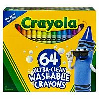 64 CT BOX WASHABLE CRAYONS