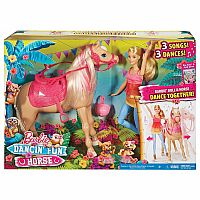 Barbie and Dancing Horse