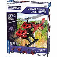 Engineering Makerspace Geared-Up Gadgets Science Experiment Kit