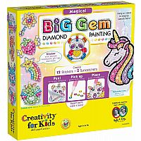 Big Gem Diamond Painting Kit Magical