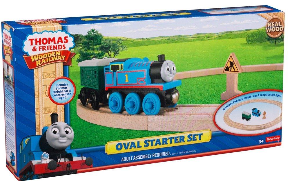 Thomas The Train Wooden Railway Oval Starter Set Mary Arnold Toys