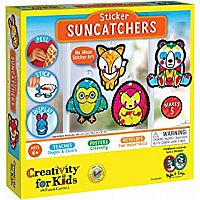 Sticker Suncatchers - Make Your Own Animal Sun Catcher Kit for Kids