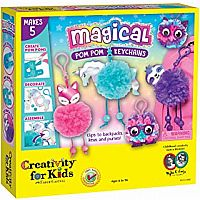 Magical Pom Pom Keychains Craft Kit