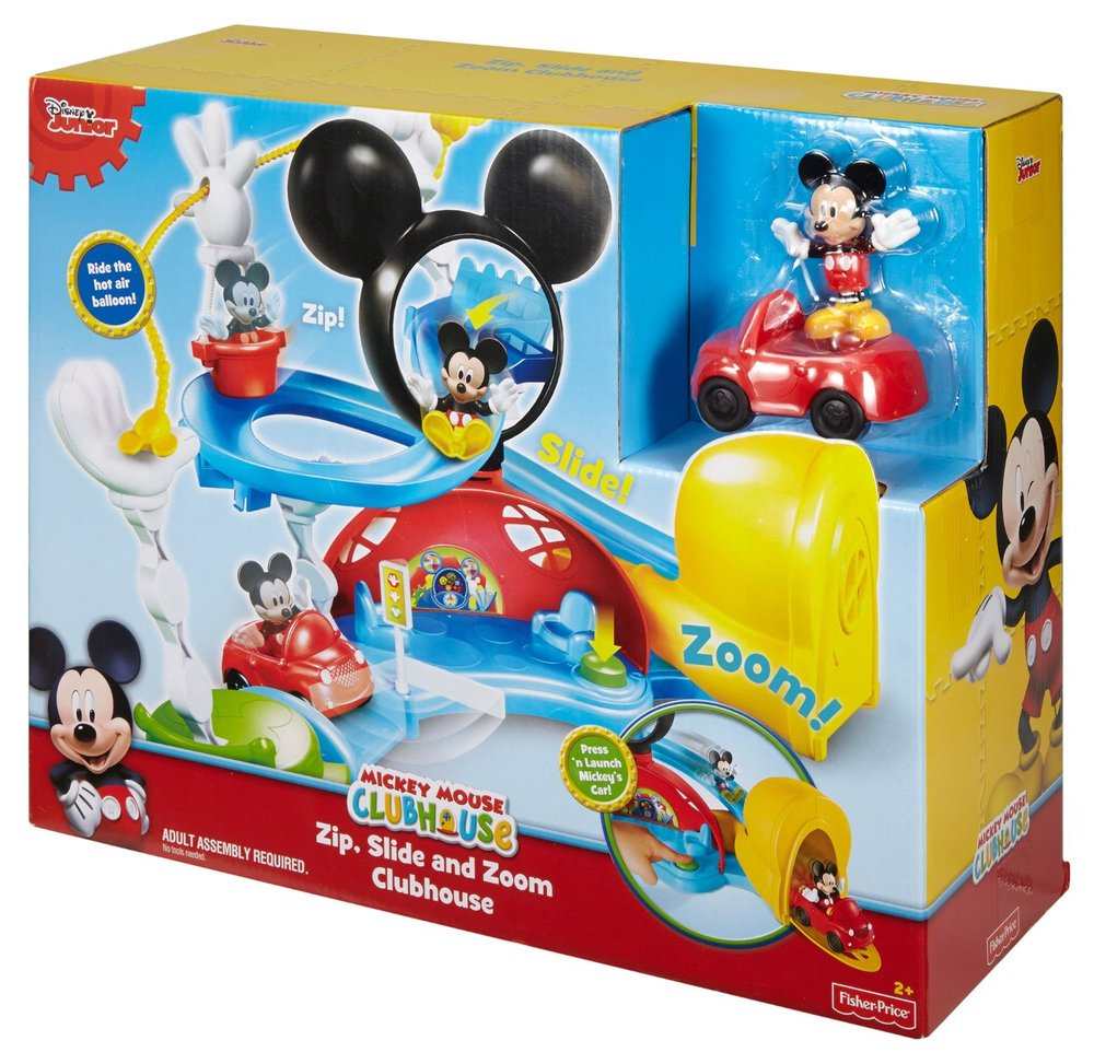 Disney Mickey Mouse Clubhouse - Zip, Slide and Zoom Clubhouse - Mary ...