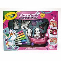 Colour'N'Wash My Little Animals to Colour in Infinity Large Box for Cats / Dogs / Rabbits Washable with Water