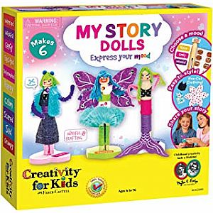 My Story Dolls - Create 6 Wooden Clothespin Dolls