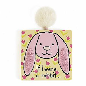 If I Were a Rabbit Book - Tulip Pink