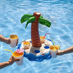 Palm Tree Beverage Boat