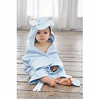 Pastel Blue Elephant Bath Wrap
