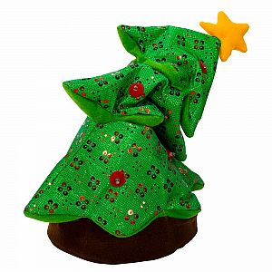 Battery-Operated Singing and Rocking Christmas Tree