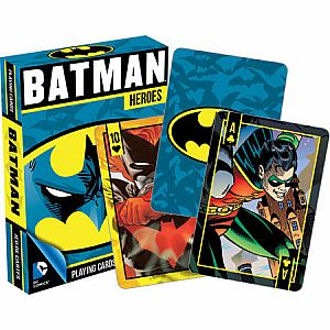 Batman Heros Playing Cards