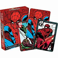 Spiderman Comics Playing Cards