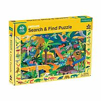 DINO SEARCH & FIND PUZZLE DINOSAUR