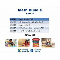 Math Bundle Age 3+