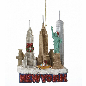 New York City Travel Ornament