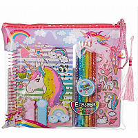 Unicorn Coloring Journal Set