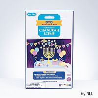 Chanukah Foam Scene