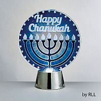 Chanukah LED Light Up Decoration, Menorah