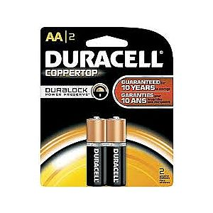 Duracell AA 2 pack Batteries