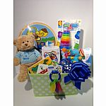 Baby Boy Basket $100