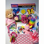 Baby Girl Basket $100