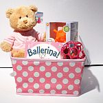 Baby Girl Basket $50