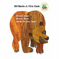 Brown Bear, Brown Bear What Do You See? Board Book
