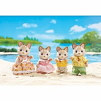 Sandy Cat Family Calico Critters