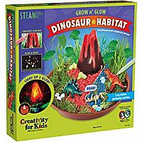 Grow N' Glow Dinosaur Habitat – Create Your Own Dino Garden Kit