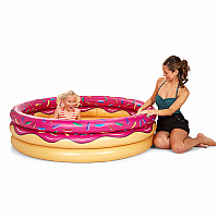 Strawberry Donut Kiddie Pool