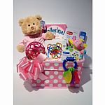 Baby Girl Basket $75