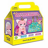 Cuddly Kitten Plush Toy - Kitty Stuffed Animal and Pet Carrier Purse
