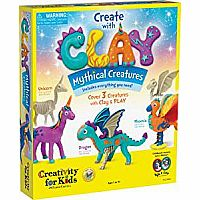 reate with Clay Mythical Creatures – Sensory Arts & Crafts for Kids