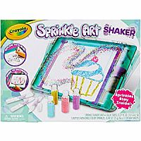 Sprinkle Art Shaker, Rainbow Arts & Crafts