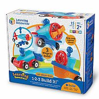 123 BUILD IT CAR PLANE BOAT