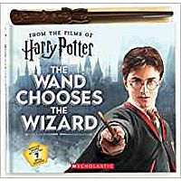 The Wand Chooses the Wizard Harry Potter Book