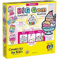 Gem Diamond Painting Sweets Kit