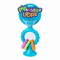 pipSquigz Loops Teal Rattle & Teether